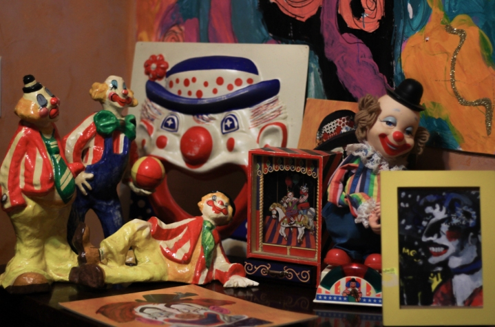 Clowns from Collections